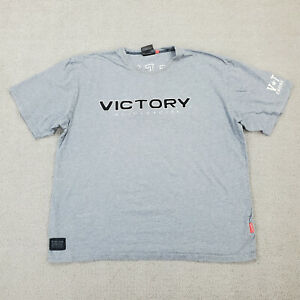 Victory V-Twin Shirt Men's 2XL Gray Motorcycle Engine Power Freedom Spade