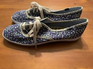 Keds Footwear Floral Womens Size 8.5 Lace Up Casual Comfort Shoes