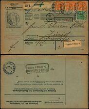 M542 Germany shipment bulletin Switzerland Gelnhausen Zurich 1898 perfin VBFG