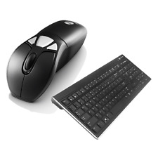 Gyration Air Mouse Go Plus With Low Profile Wireless Keyboard