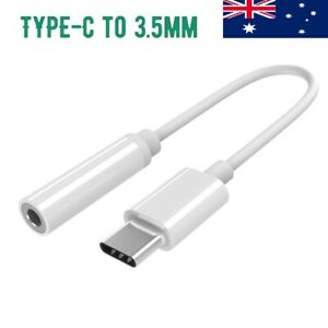 """Type C USB C to 3.5mm AUX Digital Audio Adapter For iPad Pro 11"""" 12.9"""""""