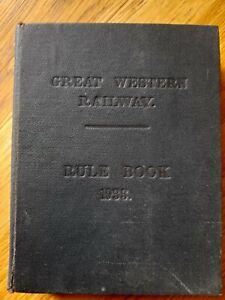 Great Western Railway Rule Book
