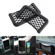 Auto Car Storage Mesh Net String Bag Phone Holder Pocket Organizer (15x8cm)