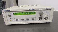grundig electronic digitalmultimeter dm 100 & universalzähler uz 2400