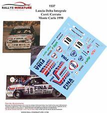 DECALS 1/24 REF 1537 Lancia Delta Integrale Cerri Cerrato Monte Carlo 1990