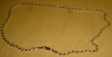 HALLMARKED SILVER 925 GOLD PLATED  CHAIN (LOT C2) UNWORN