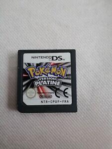 Jeu Pokémon version platine DS (sans boite)