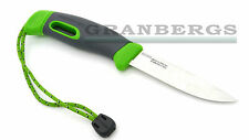 Morakniv Swedish Light My Fire FireKnife Green & Black Camp Fire Starter Knife