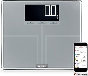 Soehnle Shape Sense Connect 200 Bluetooth Personal Digital Flat Bathroom Scales