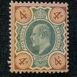 Great Britain  SC #133  Mint LH  1902