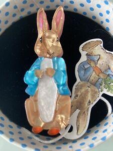 Erstwilder x Beatrix Potter Peter Rabbit Brooch