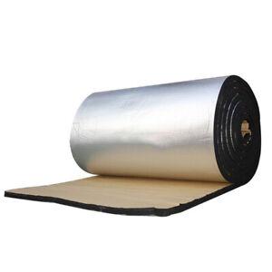 50x200Cm Sound Deadener Car Insulation Bloack Heat&Sound Thermal Proofing P Q5B5