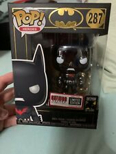 FUNKO POP Limited Edition Exclusive #287 Batman Beyond Chrome 1 of 50,000 made