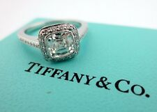 Tiffany & Co Platinum Legacy Diamond Engagement Ring 1.07Ct I-VVS1