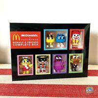 McDonald's x nanoblock Ronald & Friends Complete Box Set | set of 7 (SEALED)