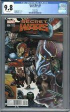Secret Wars #6 Simone Bianchi Variant Iron Man Marvel Comics 1st Print CGC 9.8