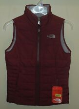 The North Face Girls Large 14/16 Harway Vest Zinfandel Red Jacket New
