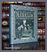 Secret History of Mermaids & Creatures of Deep Illustrated New Hardcover Gift