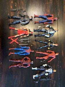 Marvel Legends Toy Biz Hasbro Spider-Man Lot Loose Villains And Heroes