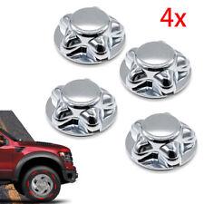 "4pcs Chrome Wheel Hub Cap Center Cap With 7"" Cap For 97-03 F150 & Expedition US"