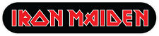 "Iron Maiden sticker decal 8"" x 2"""