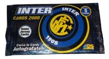 Inter FC 2000 Cards Lotto 50 Bustine Jersey Cards