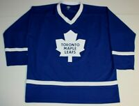 NHL Official Licensed Product Hockey Toronto Maple Leafs Jersey Adult L / XL
