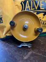 Alvey Model No 500/A1 Yellow Fibreglass Fishing Reel, Made in Australia