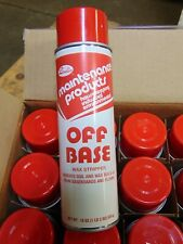 Case 12 Spray Cans Brulin Off Base Wax Stripper Floor and Baseboards