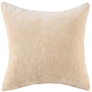 Solid Soft Velvet Throw Pillow Case Office Car Home Sofa Cushion Cover Decoratio