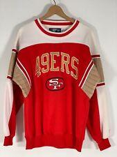 Vintage STARTER San Francisco SF 49ERS Embroidered Sweatshirt (M) NFL *Must See*