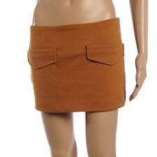 Short/Mini Cotton Stretch, Bodycon Regular Skirts for Women