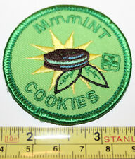 Girl Guides Canada MmmINT Cookies Seller Label Patch Badge