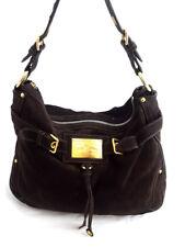 Car Shoe Brown Suede Women's shoulder Bag