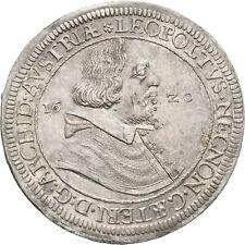 Lanz Habsburg Austria Tirol Leopoldo táleros 1620 Hall plata raramente ± rrw2312