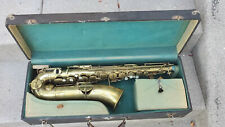 Buescher 1925 Brass True Tone Alto Saxophone w/case sax