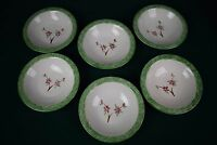 "Set of 6 of Clay in Motion 9"" bowls signed Neher 2004"