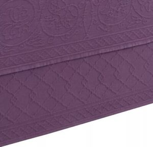 """Williamsburg Richmond Full Size Matelasse Bedskirt 54""""x75"""" With 15"""" Drop Lenght"""