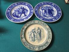Antique 1885 Wedgwood Ivanhoe Blue Plates Pick One