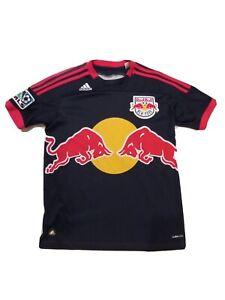 VINTAGE New York Red Bulls Jersey YOUTH Medium Adidas Shirt