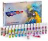 Set of 60 Vibrant Colors,Color Powder in Leak-Proof Shaker