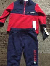 TOMMY HILFIGER BABY'S 2 PIECE OUTFIT BNWT RRP £45 12 MTHS SALE