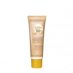 Bioderma Photoderm Cover Touch SPF50+ Light Tint 40g combination/oily skin*NEW*