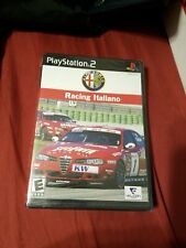 Alfa Romeo Racing Italiano PS2 [Brand New]