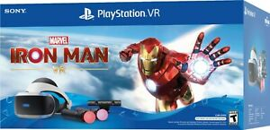 NEW Sony Playstation VR PSVR Iron Man Bundle VR Headset + Camera Controllers PS4