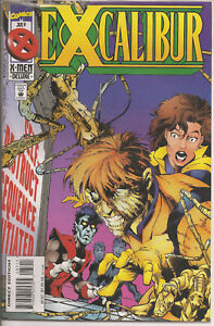 °EXCALIBUR #87: BACK TO REALITY°1995 US Marvel