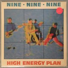 NINE NINE NINE (999) - High Energy Plan (Vinyl LP) 1979 PVC7999