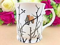 415ml Fine Bone Gold Owl On The Tree Mug Coffee Cup Tea Mug Boxed Gift Christmas