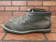 Cole Haan Chukka Boots Gray Leather Size 8.5