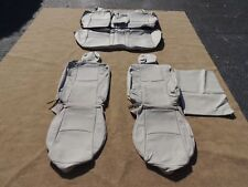 Leather Seat Covers Interior Upholstery Fits Mazda 3 Sport Sedan 10-12 Grey M103
